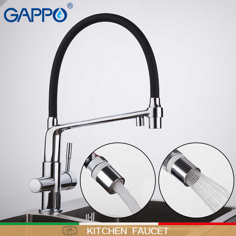 GAPPO кухонный кран, кухонный кран для воды, фильтр, смесители, смеситель на бортике, кухонный очиститель воды, кран griferia