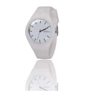 OTOKY watch women 2019 Geneva Silicone W