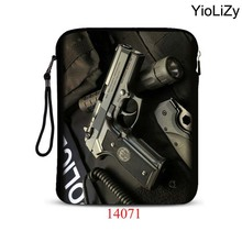 "print pistol 9.7"" 10"" inch pill Case ladies laptop computer pouch bag males pocket book protecting pores and skin mini PC sleeve Cowl For IP-14071"