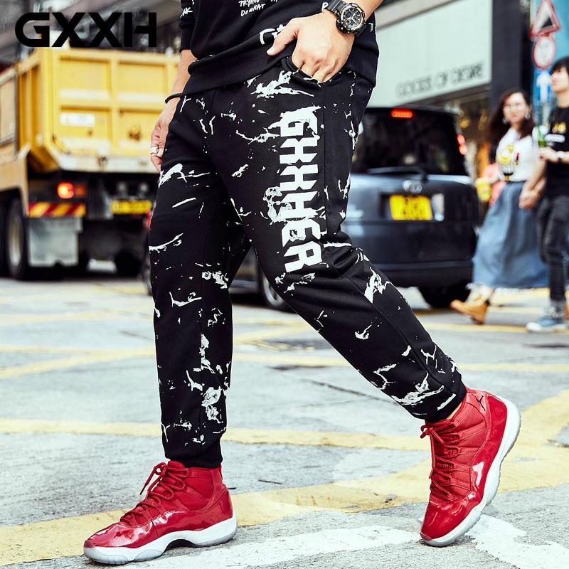 Imprimer Hommes De Streetwear Marée Lâche Mâle Taille Marque Joggers Pantalon K10157 Nouvelle Oversize Type Grande Gxxh Occasionnel 2018 Pantalons Graisse 6qxBwzR