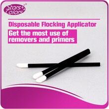 50 pieces/Bag Sponge Lips Brush Mini Disposable Extension Soft Comfortable Brushes Makeup