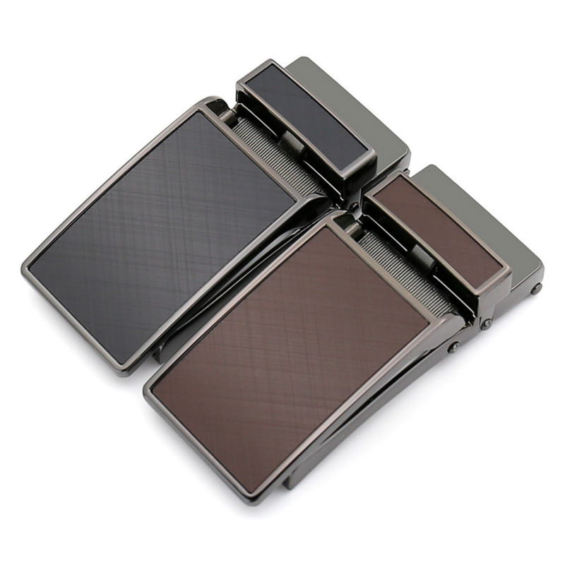 Genuine Men's Belt Head,Belt Buckle,Leisure Belt Head Business Accessories Automatic Buckle Width3.1CM Luxury Fashion LY155-0132