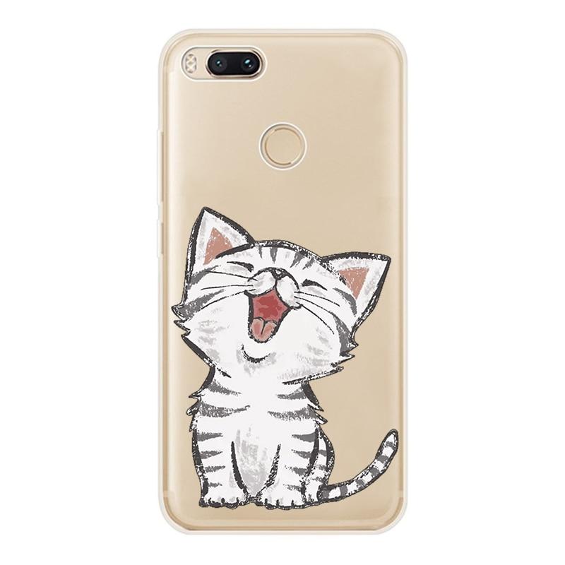New For Xiaomi mi a1 Case Cover Soft TPU SiliconeTransparent Cover For Xiaomi mi 5X Fundas Shell (6)