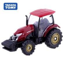 цена на Tomica  Yanmar Tractor YT5113  Takara Tomy Display Miature Diecast Metal Car  Toy Vehicle Model Collection Toys