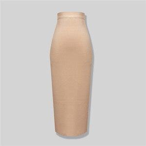 Новая мода 8 цветов плюс размер XL XXL сексуальная длина до колена повязная юбка Женская эластичная облегающая летняя юбка-карандаш 78 см