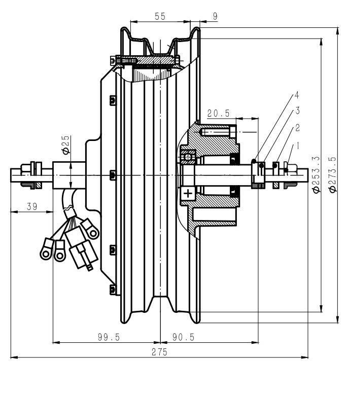 10inch 2.15x10 dibujo