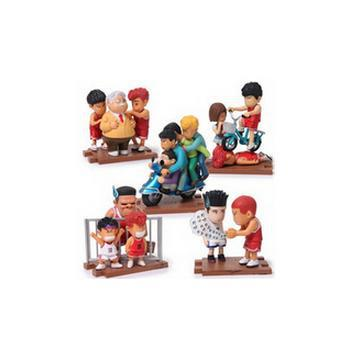 Japan Anime Slam Dunk PVC Action Figures model Toys Boys Basketball High quality Gifts Sakuragi Hanamichi 5pcs/lot N64 patrulla canina with shield brinquedos 6pcs set 6cm patrulha canina patrol puppy dog pvc action figures juguetes kids hot toys