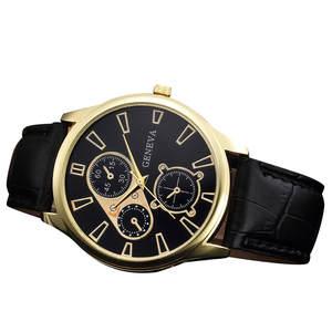 e2b59236cd2d GEMIXI Men Leather Luxury Quartz Wristwatches 2018 Watch