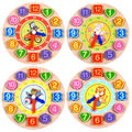 Relógio digital de segmentação, geométrica blocos correspondentes, digital blocos correspondentes, a primeira infância intelectual brinquedo iniciação presentes