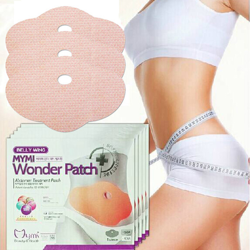 100pcs wholesaler price MYMI Wonder Slimming Patch Belly Abdomen Weight Loss Fat Burning Cream Navel Stick