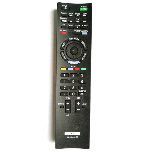 Yeni Uzaktan Kumanda Değiştirin RM YD061 SONY LED İnternet TV KDL 32EX720 32EX729 40EX720 40EX729 46EX720 46EX729 55EX720 55HX729
