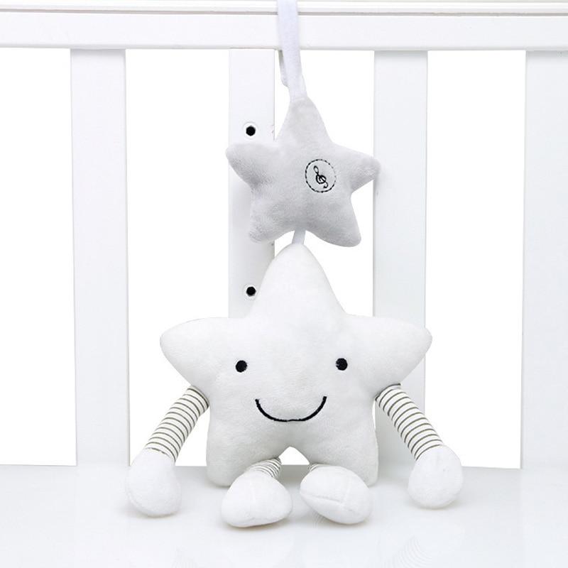 Kūdikių barškučių vežimėlių žaislas muzikinis mobilus - Kūdikių žaislai - Nuotrauka 1