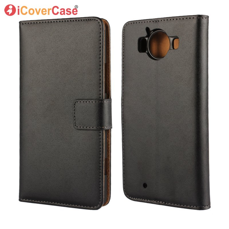 Wallet Cover Case For Microsoft Nokia Lumia 520 625 630 640 820 920 925 930 950 XL 1020 Flip Leather Phone Coque Etui Capinhas image