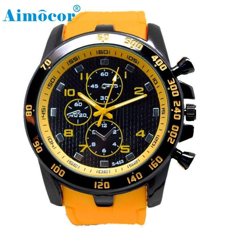 2017 Newly Designed HOT Stainless Steel Luxury Sport Analog Quartz Modern Men Fashion Wrist Watch 328