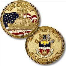 Wholesale U.S. Navy  Bronze  Coin  custom metal military army commemorative coins hl50229 custom 3d military coin factory wholesale metal coins