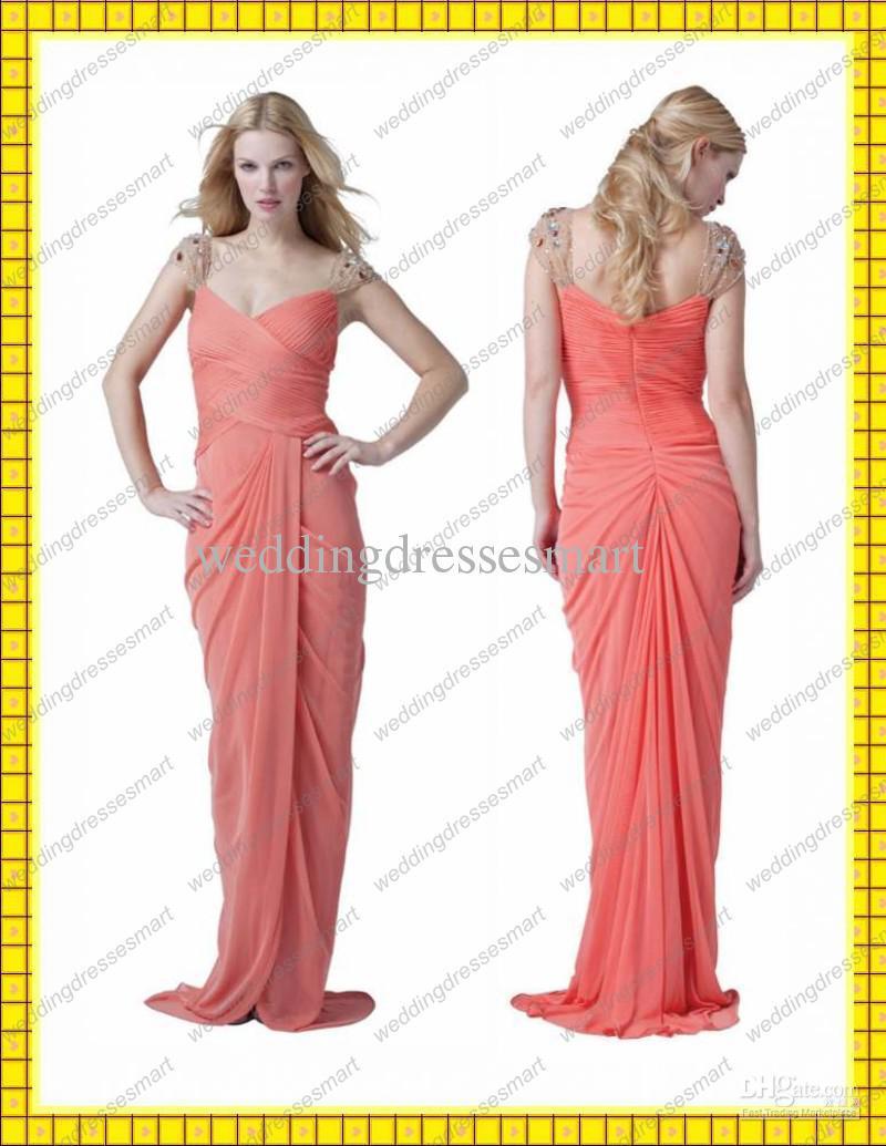 Magnífico Vestidos De Dama Griegas Imágenes - Colección de Vestidos ...