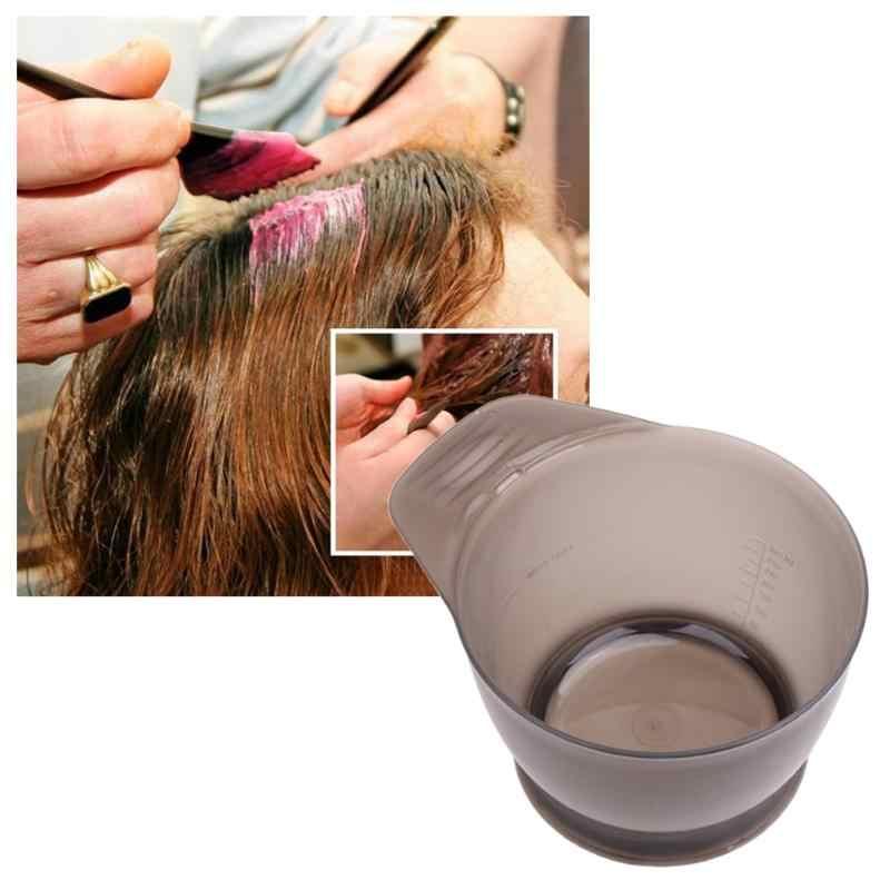 Venda quente cor do cabelo mistura tigelas preto plástico tintura de cabelo coloração escova pente tigela hairdressing ferramentas estilo