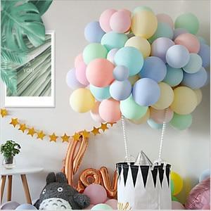 Image 5 - 100pc/lot 10 inch Macaron Latex balloons Wedding Birthday Decoration Globos Baby Shower Girl Birthday Party Pastel Balloons