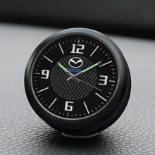Car clock decoration quartz watch styling digital electronic clock watch accessories For Mazda Angkorra CX-5 Artez