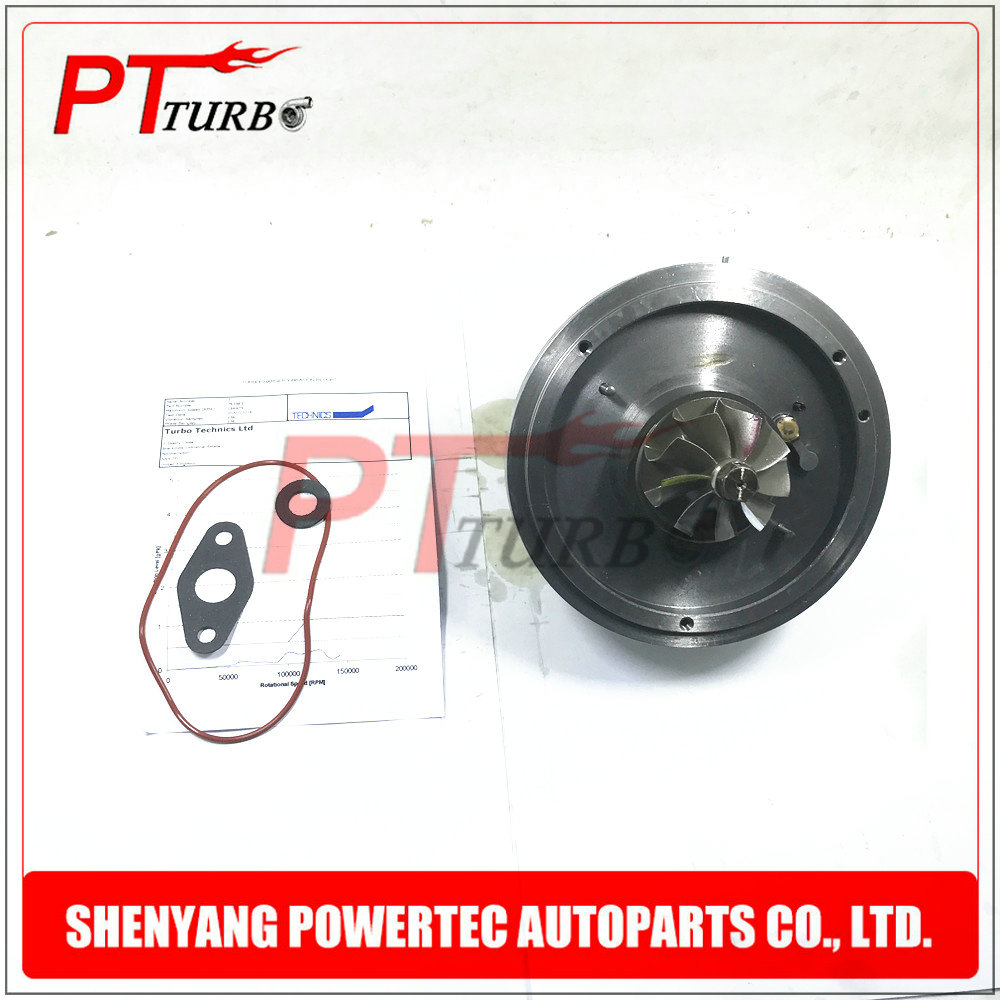 Turbo turbine cartridge <font><b>GT1752V</b></font> core assembly CHRA for BMW 520 d X3 2.0 D E60 E61 M47D20 M47TU - turbocharger 762965 11657794022 image