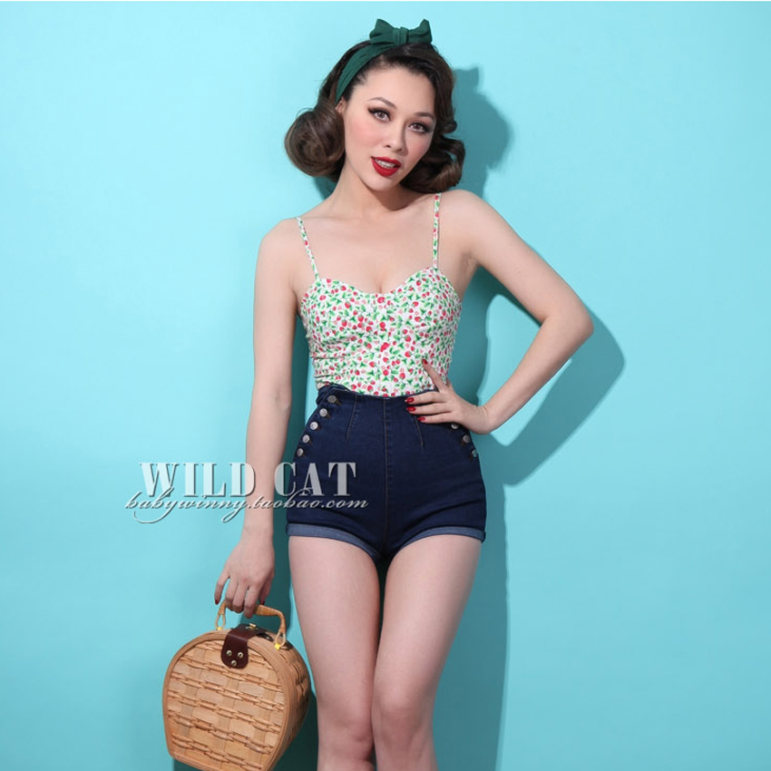 High Waisted Pin up Shorts Reviews - Online Shopping High Waisted ...