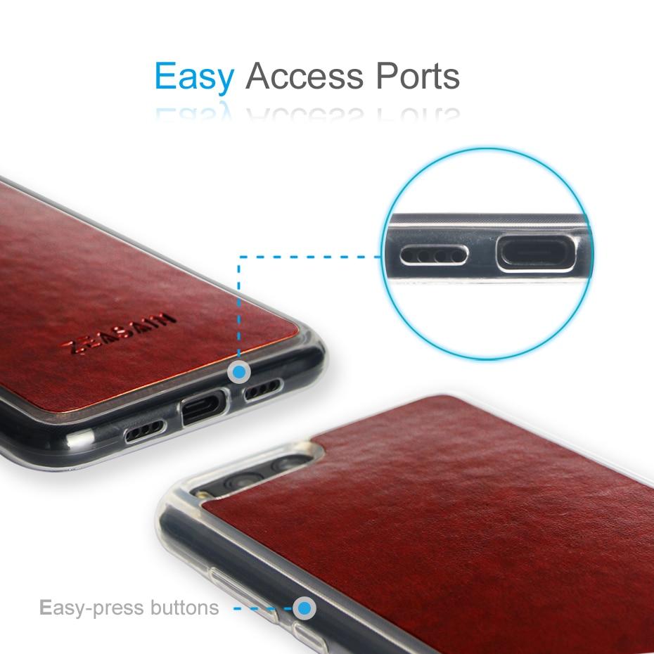 Asli ZEASAIN Slim Shockproof Mode Tutup Kasus Untuk Xiaomi Mi6 Mi 6 - Aksesori dan suku cadang ponsel - Foto 4