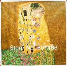 Gustav Klimt -The Kiss Poster  Free shipping High quality