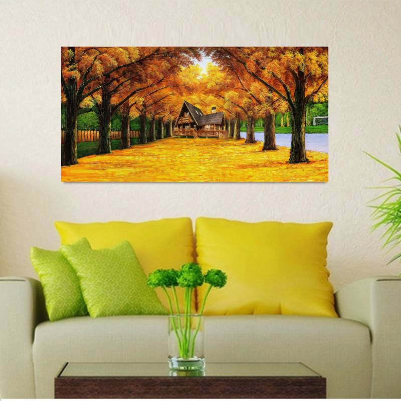 Big Size Canvas Print Oil Painting Wall Art Pictures For Living Room ...