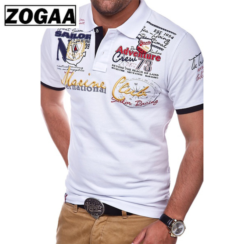 ZOGAA 2019 Summer Plus Size 4XL   Polo   Shirt Men Short Sleeve   Polo   Shirt Casual Shirts Slim Fit Cotton Men's   Polo   Shirt Hot Sale