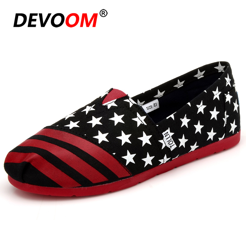 Fashion American Style Slip on Mens Summer Shoes Flat Rubber Canvas Shoes for Men Breathable House Casual Footwear Loafers Male