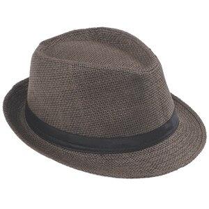 Хит модных продаж унисекс Fedora Мужская Гангстерская шляпа Кепка для женщин Летняя Пляжная шляпа соломенная шляпа-Панама мужские модные крутые шляпы розничная - Цвет: Coffee