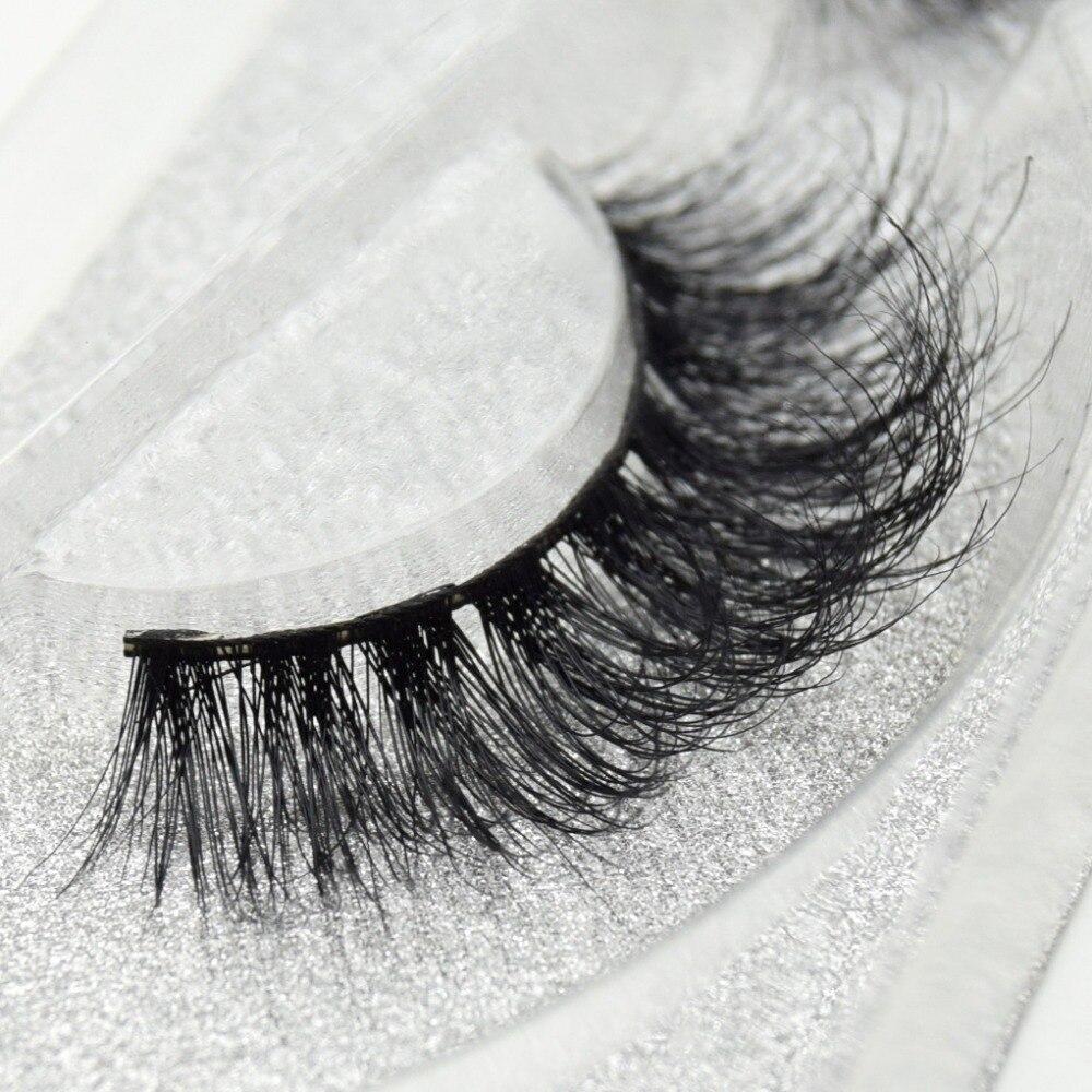 Image 4 - Visofree eyelashes 3D mink eyelashes long lasting mink lashes natural dramatic volume eyelashes extension false eyelashes D08-in False Eyelashes from Beauty & Health