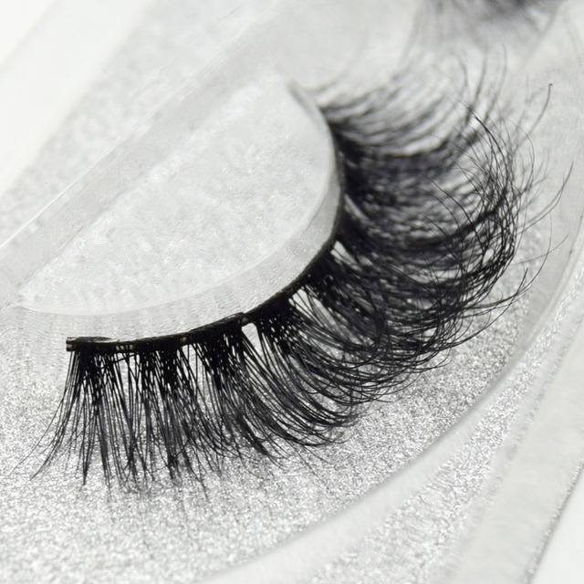 Visofree eyelashes 3D mink eyelashes long lasting mink lashes natural dramatic volume eyelashes extension false eyelashes D08 3