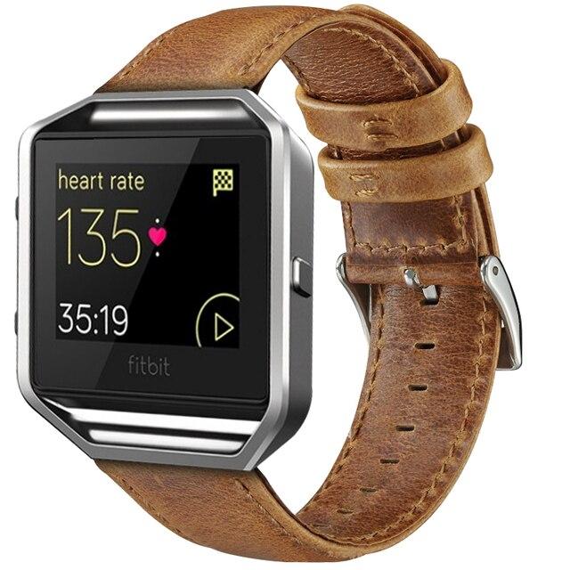 Fitbit Blaze Aged Leather Strap
