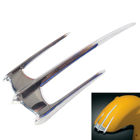 Motorcycle Triceptor Front Fender Accent Trim Case for Yamaha XV1600 XV1700 Road Star 1999 2015 (all Except Warrior)