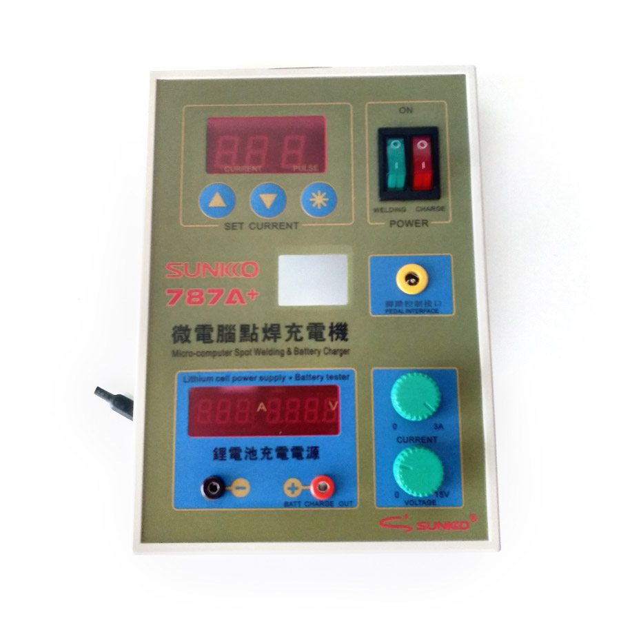 SUNKKO787A+ Spot Welder Circuit Board For 18650 Battery Spot Welding Machine Repair Replacement 787A+ Spot Welding Circuit Board