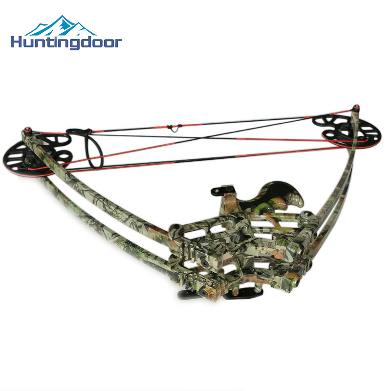A Hunting Compound Bow 50lbs Triangle Archery Composite Bow Right Hand or Left Hand From China Bow