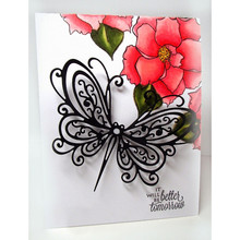 YaMinSanNiO Stunning Butterfly Metal Cutting Dies for Scrapbooking New 2019 Die Cut Stitch Craft Stencil Troqueles