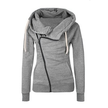 ZOGAA Autumn Winter Women Cotton Sport Hoody Hoodie Girls Hooded Pullover Sweatshirt Jumper Coat Jacket