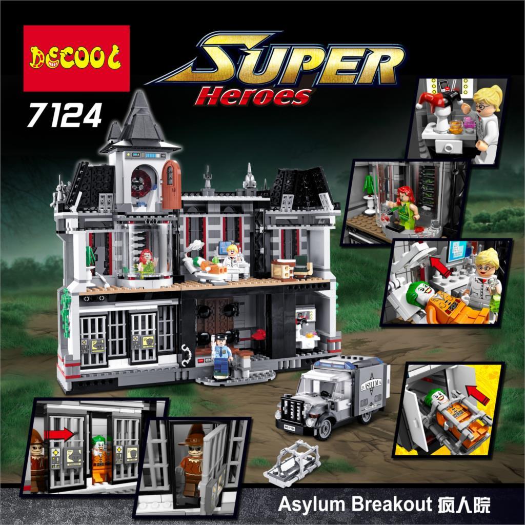 Blocs de construction Compatible avec Lego DG7124 1619 p Modèles Kits de Construction Blocs Jouets Passe-Temps Passe-Temps Pour Chlidren