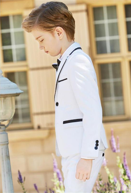 2019-new-fashion-white-boy-formal-wear-notch-lapel-boy-kid-clothes-for-wedding-birthday-party-(jacket+pants+bow+vest) (3)