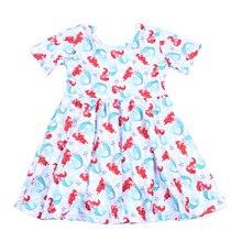 New Arrivals Baby Girls Summer Red Mint Princess Dress Girls