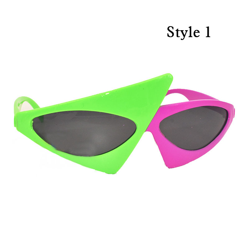 779cdb1d15 Roy Purdy Pink Green Glasses Music Hip Hop Funny Party Shape Sunglasses Bar Party  DIY Eye Mask -in Party DIY Decorations from Home   Garden on ...