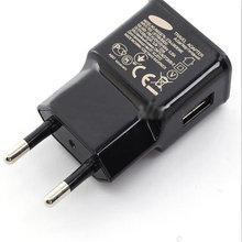 Black&White EU Plug 5V 1A Wall Charger Adapter Mobile Phone Device Micro Data Charging For Samsung Most Mobile Phone