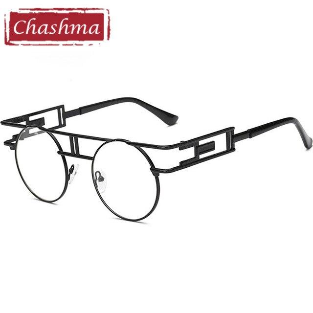 4ba189268c Chashma Brand New Lady Frame Color Film Metal Big Glasses Personality  European American Stylish Eyeglassses Men