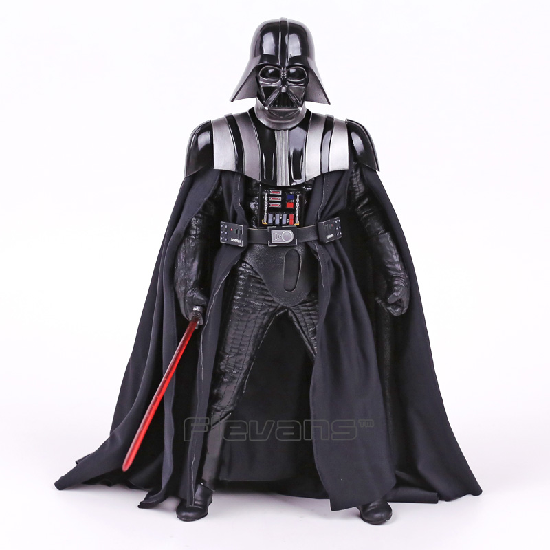 цена Crazy Toys Star Wars Darth Vader 1/6 th Scale PVC Action Figure Collectible Model Toy 12inch 30cm в интернет-магазинах