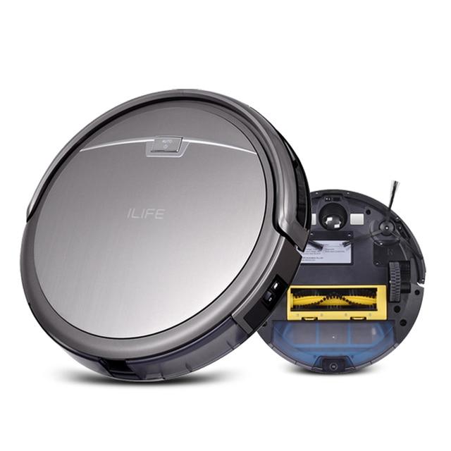 ilife a4 smart robot vacuum cleaner for home 1000pa efficient clean hepa sensor remote control self - Robot Vacuums