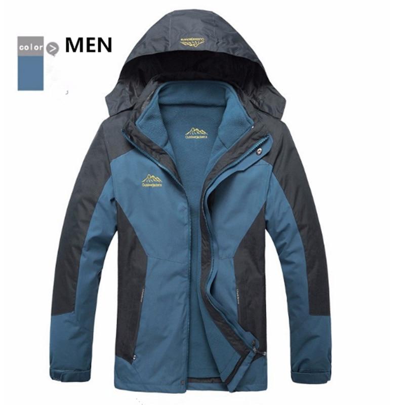 New Waterproof Climbing Windbreaker Women Warm Breathable Windproof Outdoor Winter Jackets Pacific Trail Hiking Jackets for
