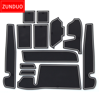 White Interior Doors | ZUNDUO Gate Slot Pad For TOYOTA TANK/ROOMY 2016-2018  Accessories,3D Rubber Car Mat  Red/white/black Interior Door Pad/Cup Mat