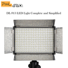 PIXEL DL-913 Complete led lamp video light 308pcs Lights for Nikon Canon Sony Photo studio camera Wedding fill light